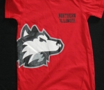 Northern Illinois Printed Red T-Shirt